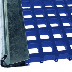Tensioned polyurethane screen panel